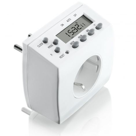 Bearware Arendo Digital Timer Switch-White (A29857x4)