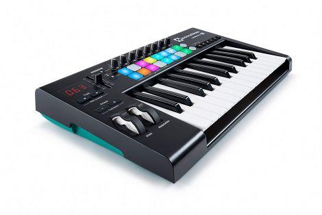 NOVLKE25MK2 Launchkey 25 MKII USB Keyboard Controller for Ableton Live