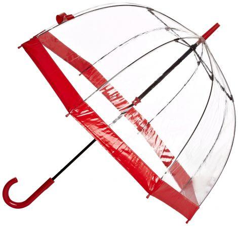 Fulton Birdcage 1 Γυναικεία Ομπρέλα (Κόκκινη)
