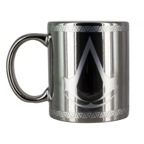 Assassin's Creed Chrome Mug, Multi, 8 x 8 x 10 cm