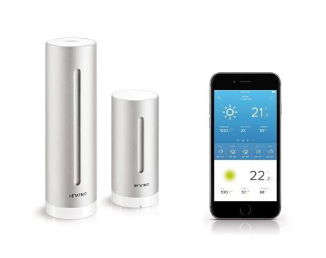Netatmo Weather Station for Smartphones (works with Google Home and Alexa)