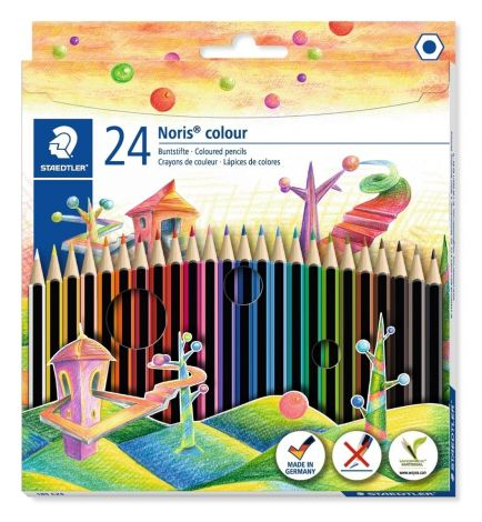 Staedtler Noris colour 185 C24 Colouring Pencil - Assorted