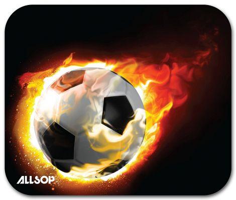 Allsop Blazing Football Mouse Pad (06348)