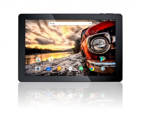 "10.1"" Fusion5 Android 7.0 Nougat 32GB 104+ Tablet PC - (MediaTek Quad-Core, GPS, Bluetooth 4.0, FM, 1280*800 IPS Display, Google Certified Tablet PC) - Dec 2017 Release (32GB)"