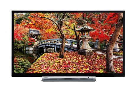 Toshiba 43L3753DB 43-Inch Smart Full HD LED TV with Built-in Freeview Play - Black