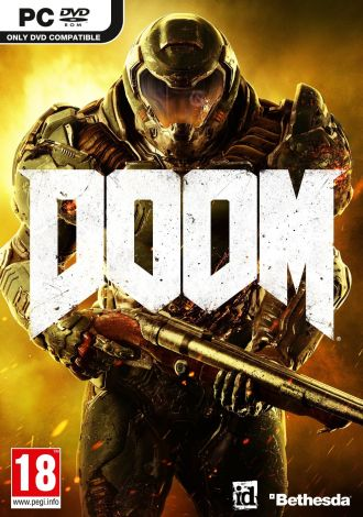 Doom First Person Shooter (PC DVD)