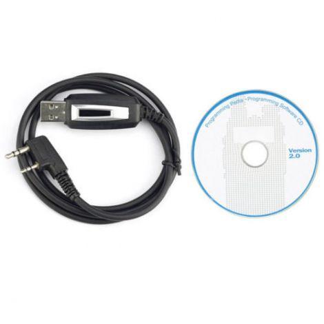 Καλώδιο USB Προγραμματισμού Πομποδεκτών BAOFENG και Kenwood