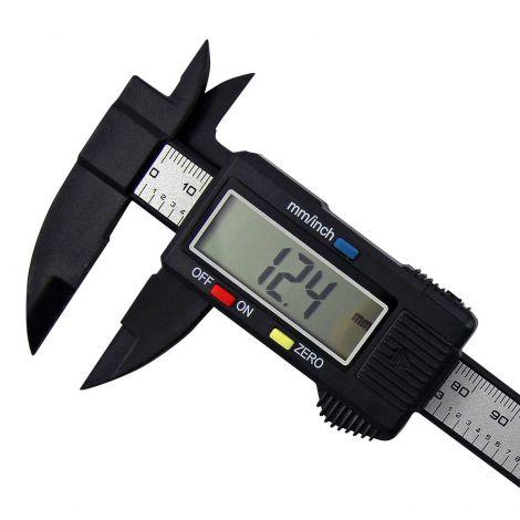 Ηλεκτρονικό Ψηφιακό Παχύμετρο Βαθύμετρο Μικρόμετρο 15cm