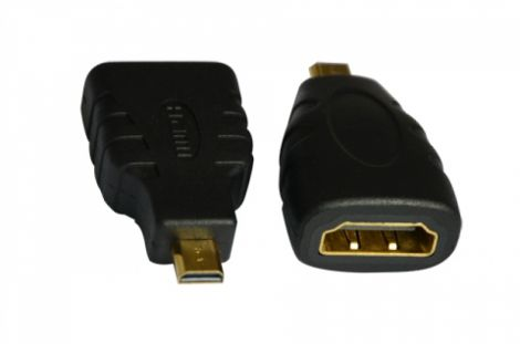 Αντάπτορας HDMI Θηλυκό σε Micro HDMI Αρσενικό (17120)