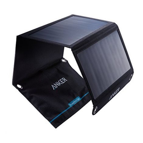 Anker PowerPort Outdoor Solar Panel 21W 2-Port Black (A2421011)