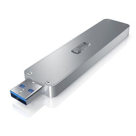 Aplic M.2 to SATA SSD Enclosure Case - USB 3.0 with UASP (302762)