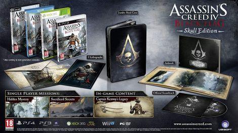Assassin's Creed IV: Black Flag - Skull Edition (Xbox 360)