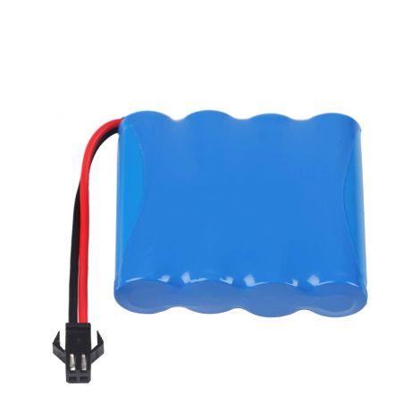 Battery Pack SM Plug for RC Car 4.8V 1400mAh