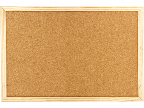 ΠΙΝΑΚΑΣ ΦΕΛΛΟΥ BLACK RED 30Χ40 ΔΙΠΛΗΣ ΟΨΗΣ (BR43110)