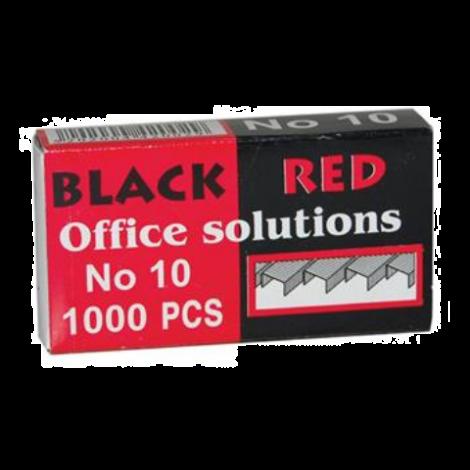ΣΥΡΜΑΤΑ ΣΥΡΑΠΤΙΚΟΥ Νο 10 BLACK - RED  (BR42002)