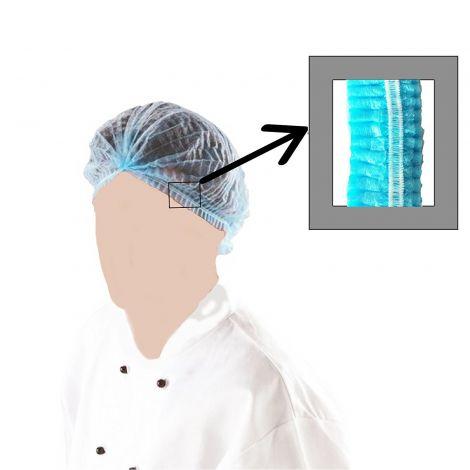 Bonnet clip blue 100pcs pouch