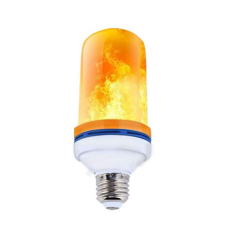 LED flame light bulb E27 4 modes 5w