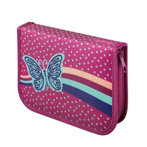 Butterfly Filled Pencil Case 50 pcs (Pink)