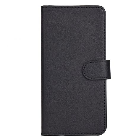 Leather Wallet with Flip Cover, Credit Card Pockets and Stand Compatible with Huawei P20 PRO - Black
