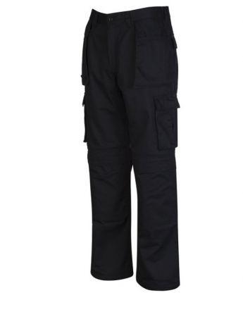 T2 Παντελόνι Εργασίας με Τσέπες XL Μαύρο