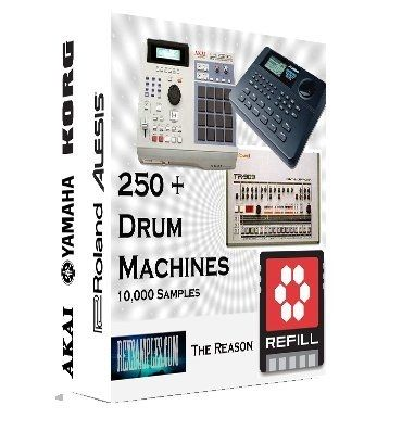 250 Drum Machines - Propellerhead Reason Refill Version