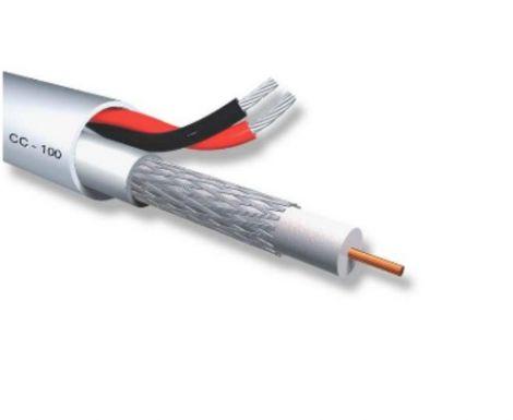 Biokal CC-100, 2 x 0.50 Σύνθετο Καλώδιο Εικόνας - Τροφοδοσίας ανά μέτρο