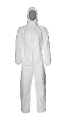 DuPont Proshield Basic Disposable Coverall XL White (CHF5)