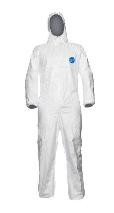 DuPont Tyvek Classic Xpert Cat3 Disposable Coverall XL White (TYV CHF5 S WH 00)