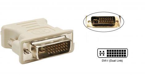 Adaptor DVI-I Dual Link Male to DVI-I Dual Link Male (17102)