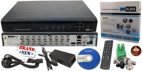 Καταγραφικό 16 Καναλιών Live CCTV  DVR H.264  (SA-5004EL)