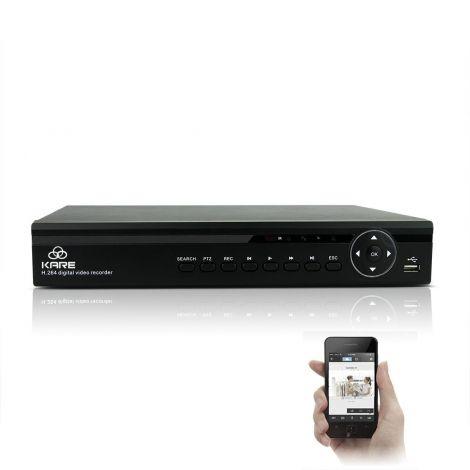 1080p KARE 8CH CCTV DVR System plus 2TB HDD (KR-D8C403)