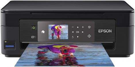 Epson Expression Home All-in-One Wi-Fi Printer Black (XP-452)