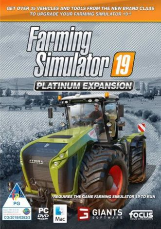 Farming Simulator 19 Platinum Expansion (PC)