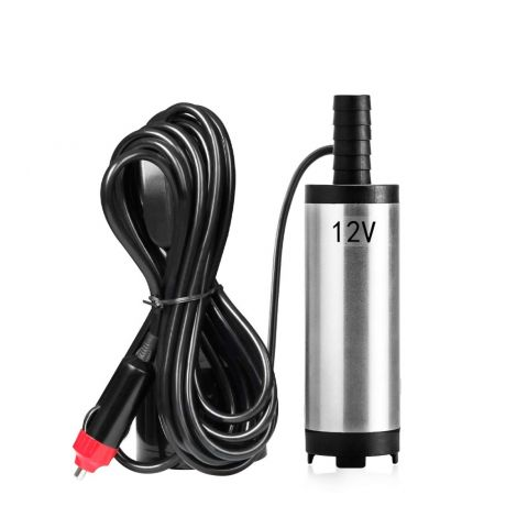 Favoto 12V 38mm Stainless Steel Car Kit Electronic Oil Pump Diesel Extractor