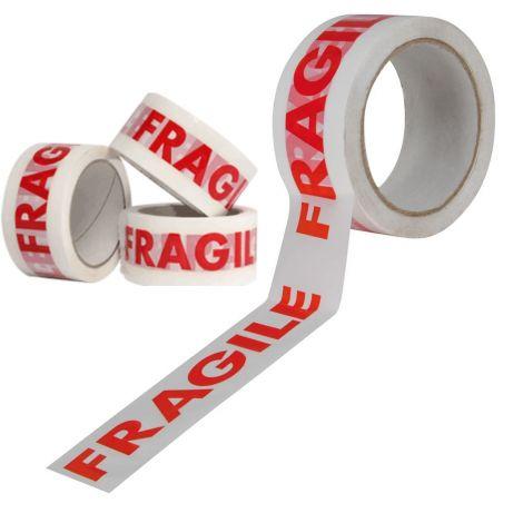 FRAGILE PRINTED PACKING SEALING TAPE (48MM X 66M)