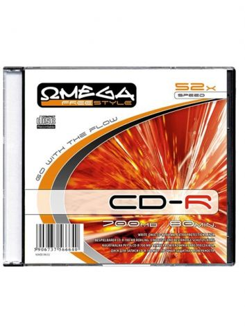 FREESTYLE CD-R 700 MB/80 Min SLIM CASE 10 (56663) (OM56663)