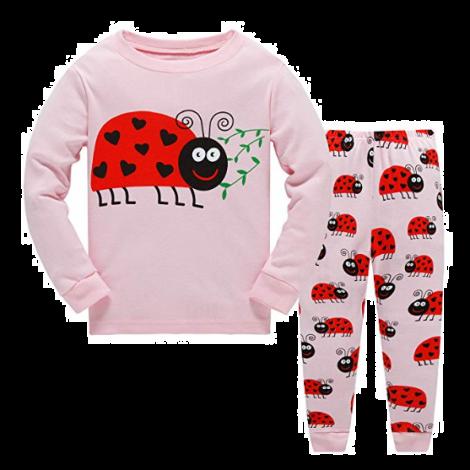 Garsumiss Girls Pyjamas Set Cute Kids Long Sleeve Cotton Pjs Pajama Sleepwear Tops Shirts & Pants (5 years)