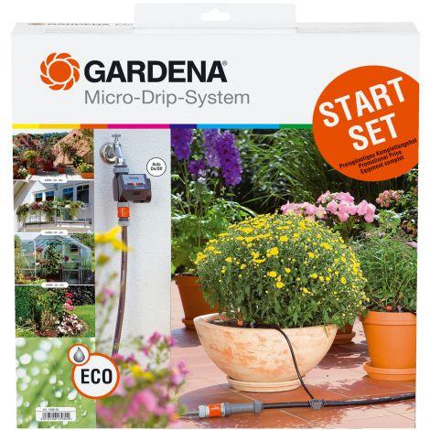Gardena Σύστημα Αυτόματου Ποτίσματος Με Χρονοδιακόπτη Νερού (C14E)