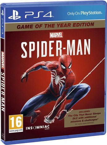 Marvel's Spider-Man - Game of the Year Edition PS4