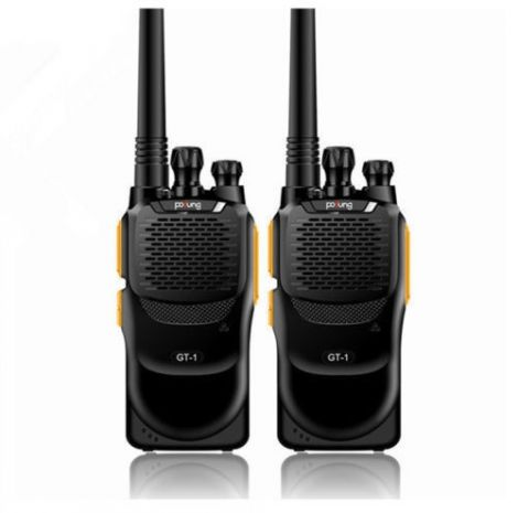 Σετ Πομποδέκτες Pofung UHF 400-470MHz FM Two-way Ham Radio 2 Τεμαχίων Πορτοκαλί (GT-1)
