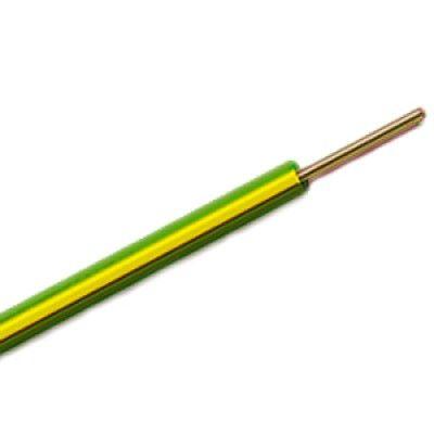 Καλώδιο ΝΥΑ 1Χ1.5mm² 100 Μέτρα Κίτρινο H07V-R
