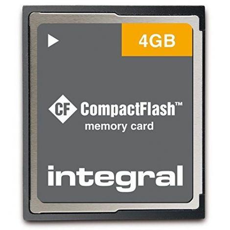 Integral CompactFlash CF 4GB Memory Card (INCF4GV2)