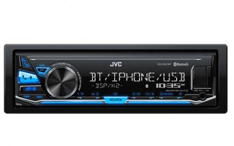 JVC Car Radio with BT / USB / MP3 KD-X341BT
