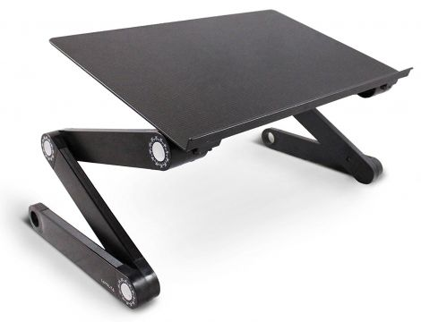 Lavolta Ergonomic Laptop Table Desk Holder - Black