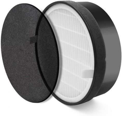 Levoit Air Purifier LV H132 RF High Efficiency Hepa and Activated Carbon Replacement Filter