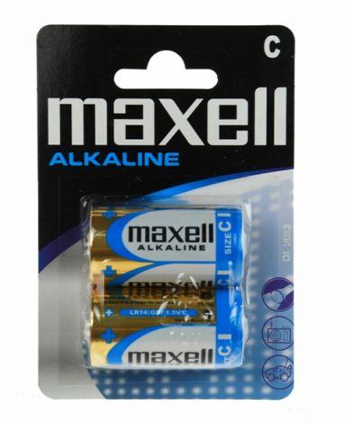 MAXELL ΜΠΑΤΑΡΙΕΣ ΑΛΚΑΛΙΚΕΣ LR14 C 2 TEM BL. (MX16218)