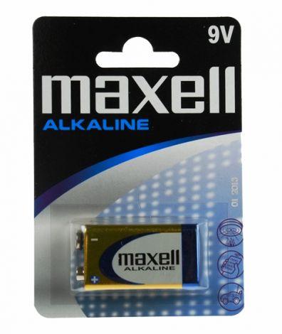 MAXELL ΜΠΑΤΑΡΙΕΣ ΑΛΚΑΛΙΚΕΣ 6LR61 9V 1 BL. (MX15025)