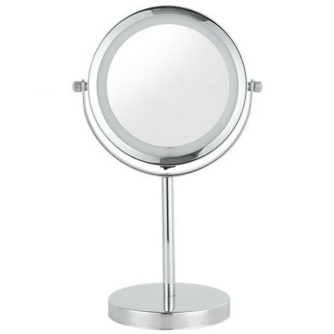"6"" Double-sided Make-up Mirror With Led Lights"