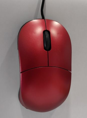 Optical Usb Mouse 1200Dpi Red (955)