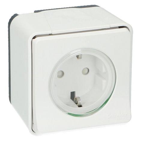 Πρίζα Σούκο 2M 16A 230V Λευκή IP55 (MUR39034)